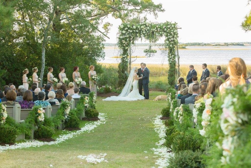 Waterfront ceremony, Watson House, Distinctive Image Photography