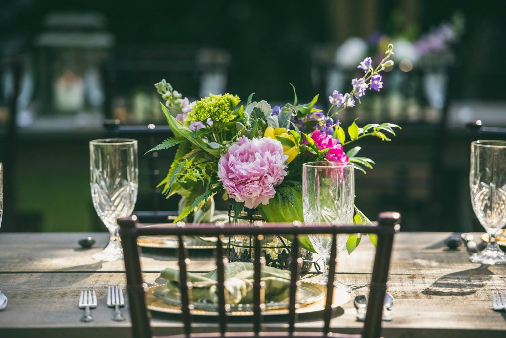 Carolina Home and Garden, Floral Designer, wedding details, Watson House, tea pot