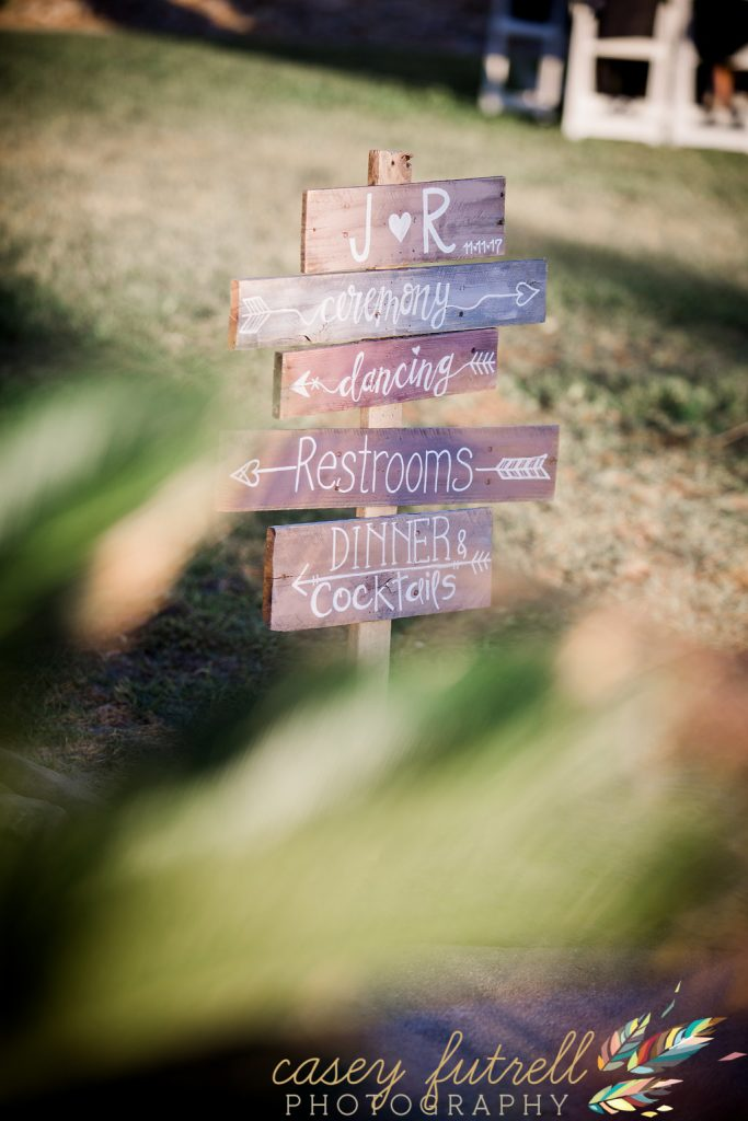 Wedding day signage, pallet wood, wedding details