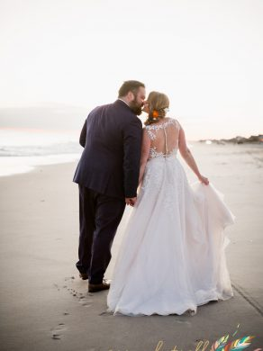 Emerald Isle wedding details